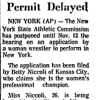 On Lawsuits for Licenses: The Fight for Women's Wrestling in New York (long-form)