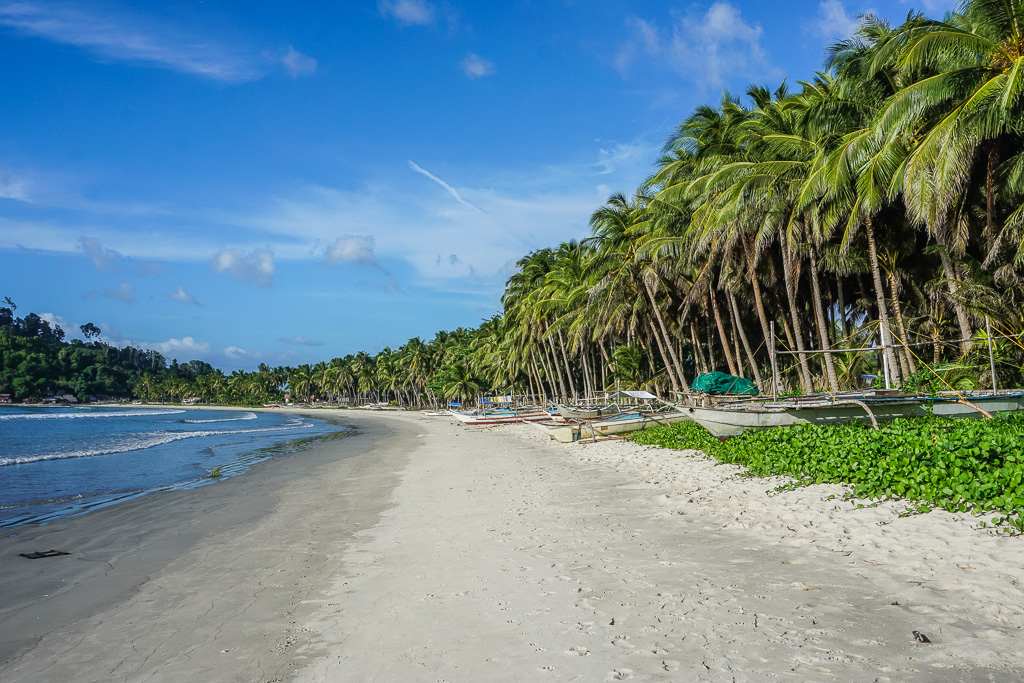 Long Beach San Vicente Palawan Remote Paradise Finding Beyond