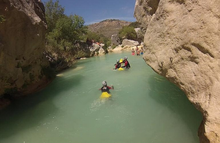 geres national park canyoning