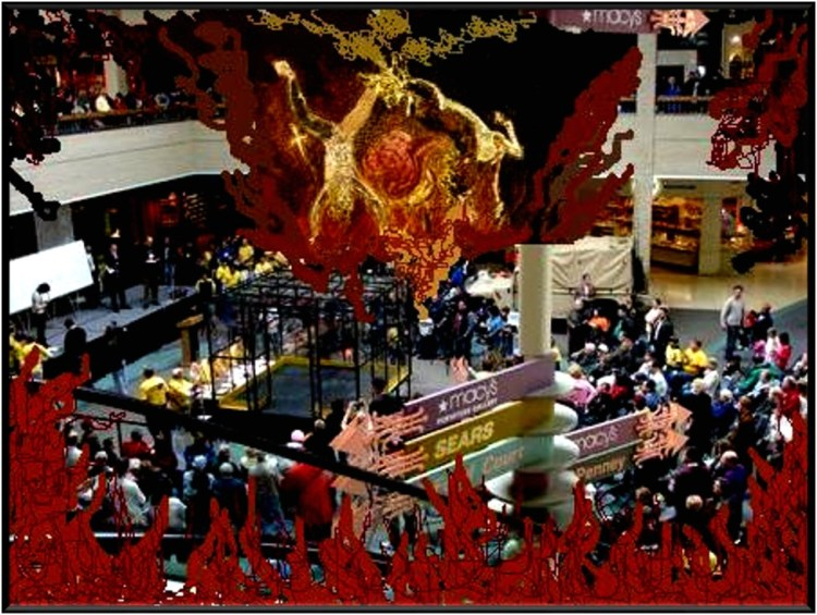 Hell - the shopping mall Image by Adriana Díaz-Enciso 2018