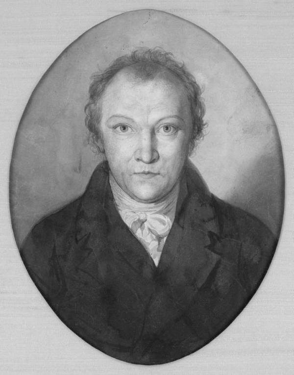 William Blake self-portrait 1802