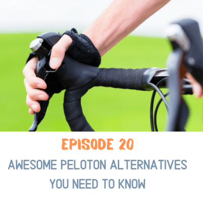 riding a regular road bike on a trainer is an excellent Peloton alternative