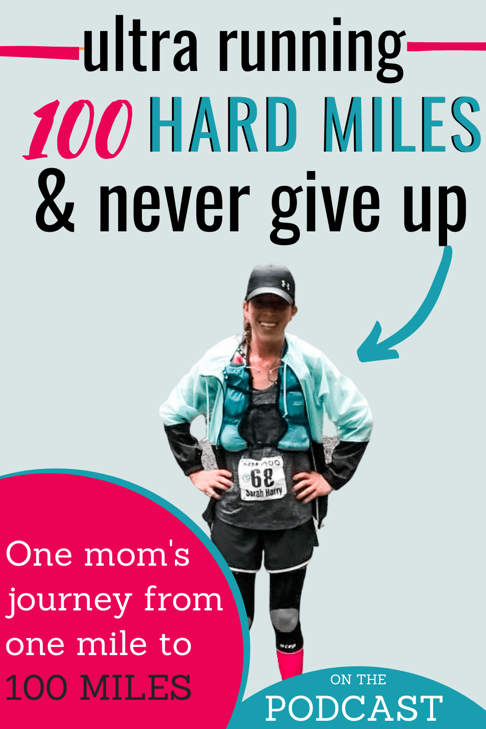 ULTRA RACING WITH HEART AND BRAVERY: SARAH IS UNSTOPPABLE