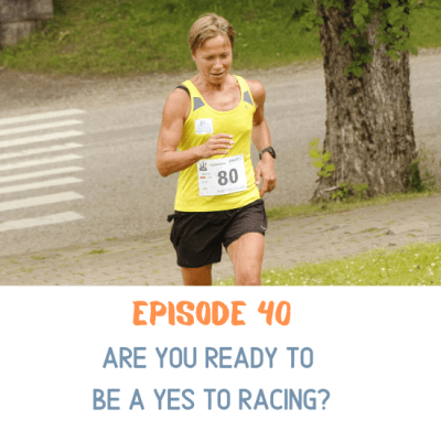 Woman was ready to be a yes to racing and enjoyed running a trail race