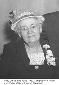 CLARKE Mary Rowe 1952