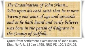 Quote from John Nunn Settlement Examination with caption