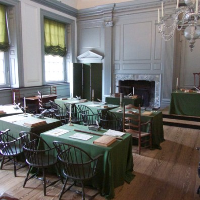 Assembly Room, Independence Hall, Philadelphia