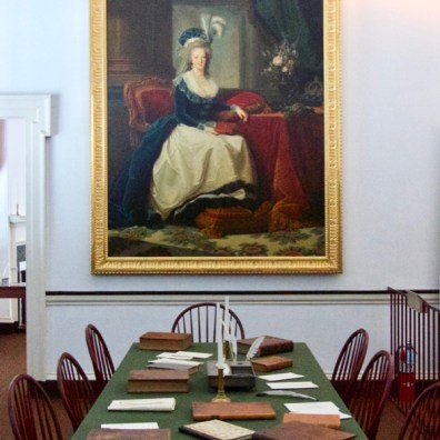 Painting of Marie Antoinette, Independence Hall, Philadelphia