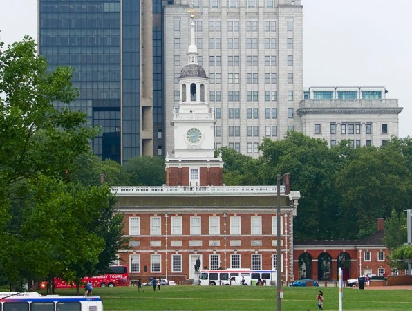 North facade, Independence Hall, Philadelphia