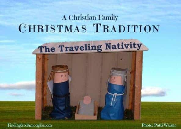 Traveling Nativity Christian Christmas Tradition