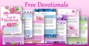 Free Christian Devotionals delivered to your inbox. Author Shirley Alarie.