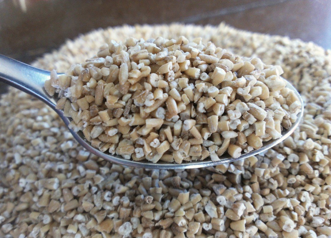 dry steel cut oats