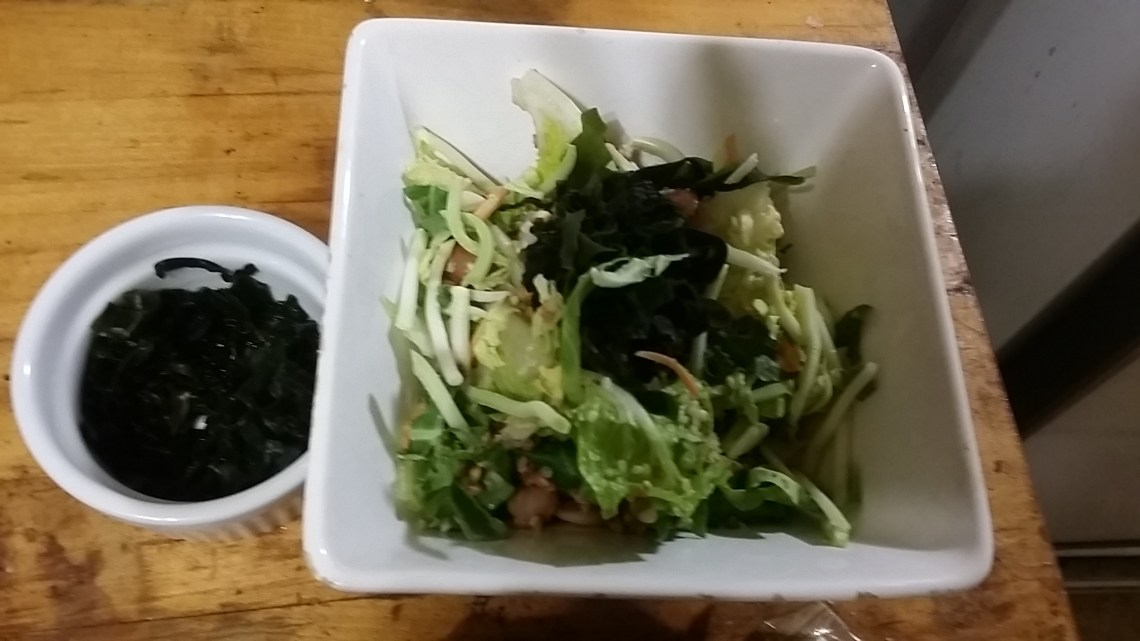 bean and buckwheat salad