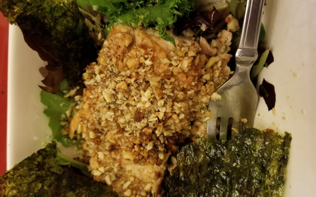 Recipe:  Almond-Crusted Salmon