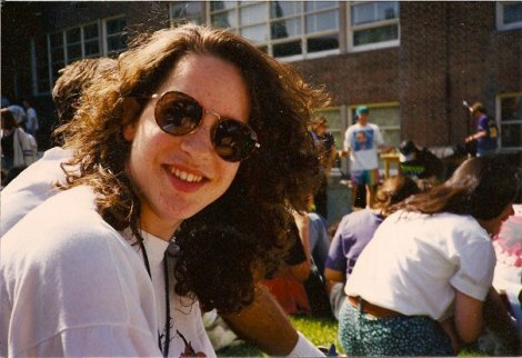 Me in high school, 1992.