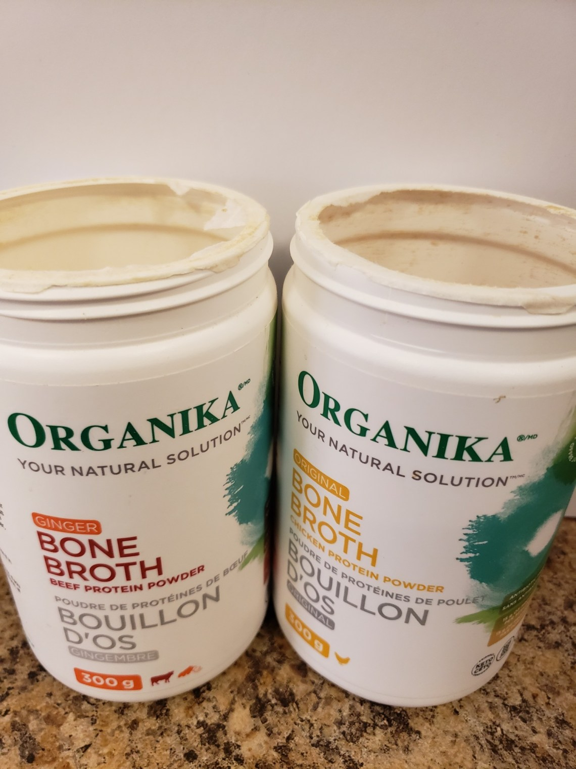 organika bone broth powders