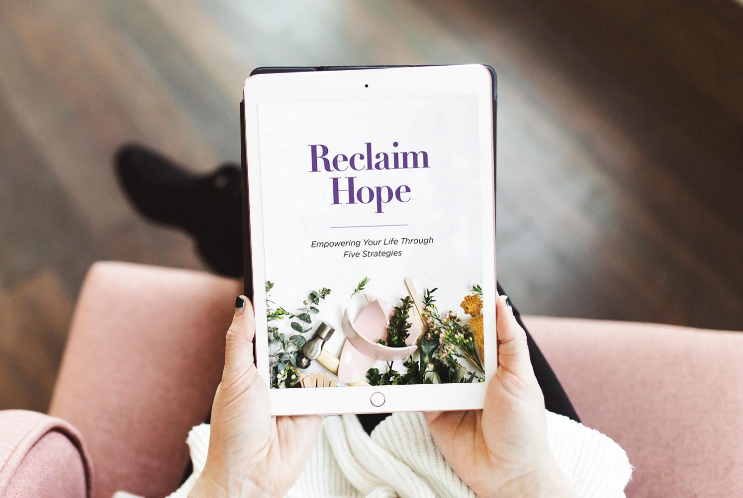 Reclaim Hope Book
