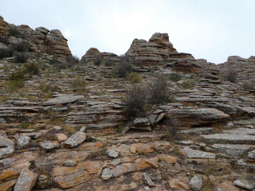 Baga Gazriin Chuluu Land der kleinen Steine