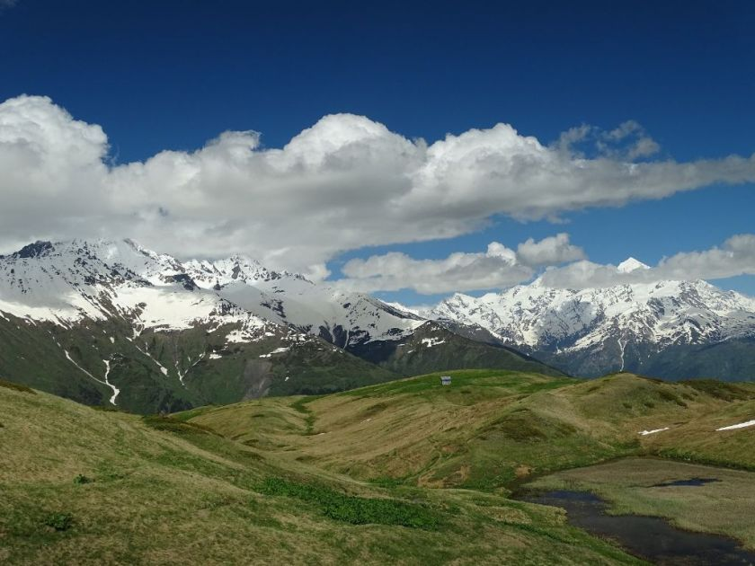 Berglandschaft Mestia