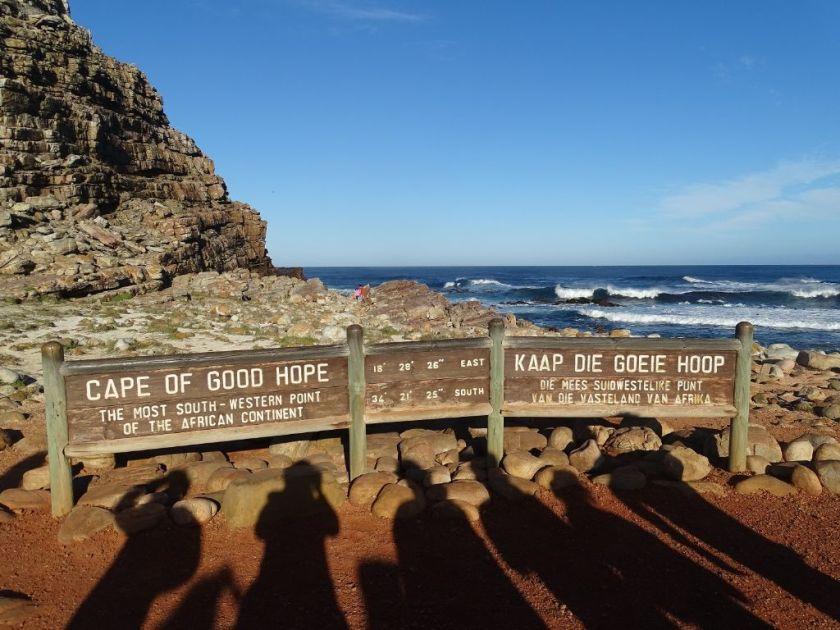 Schild Kap der Guten Hoffnung Südafrika