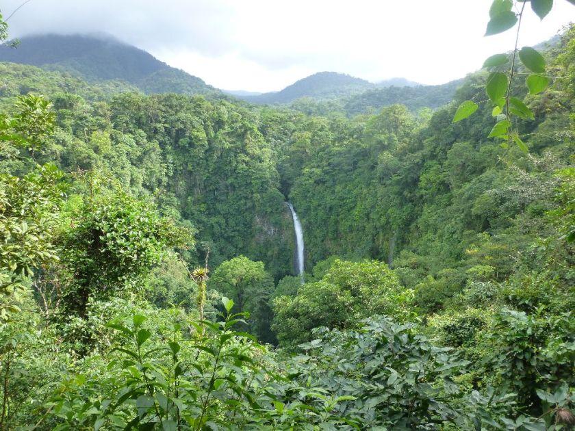 Wasserfall La Fortuna