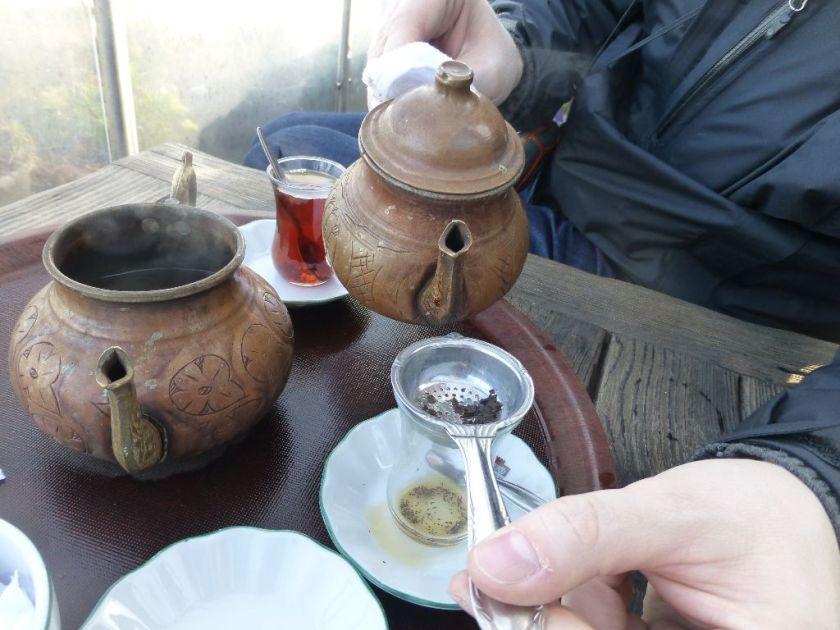 Schwarzer Tee Istanbul