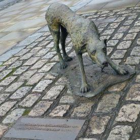 Dublin Famine Memorial Hund