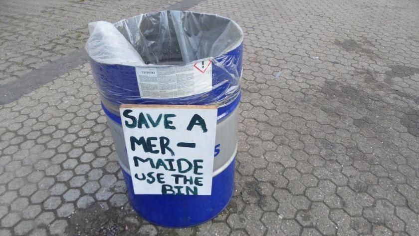 Save a mermaide Kopenhagen