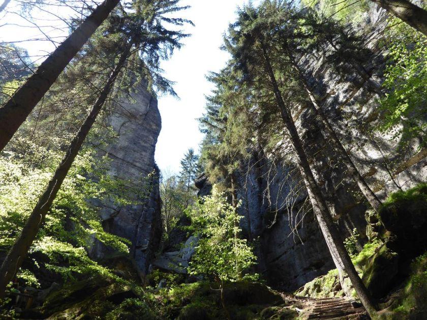 Schwedenlöcher Sächsische Schweiz