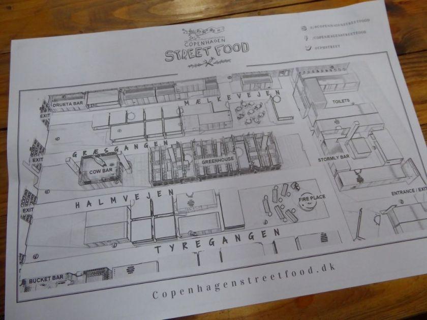 Streetfood Market Copenhagen Papiroen Map