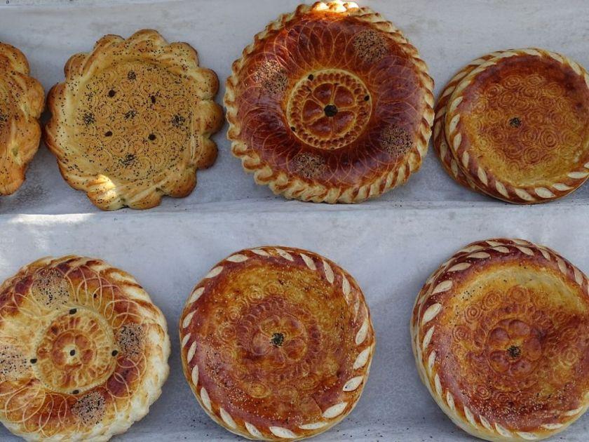 künstlerische Brote Usbekistan