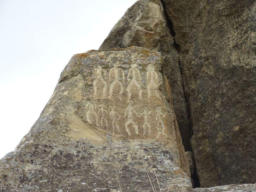 quobustan aserbaidschan höhlenmalereien