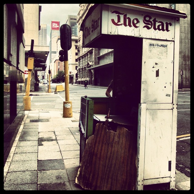 The Star newspaper stand