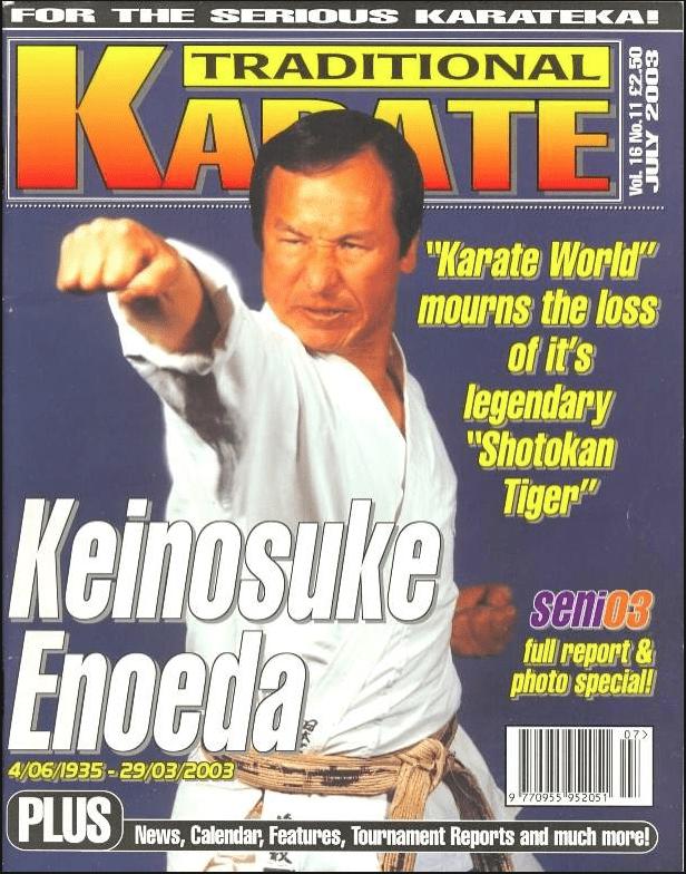 Cover Star: Keinosuke Enoeda