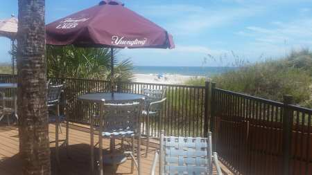 Hampton Inn Beach Access