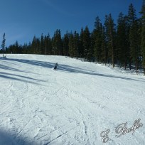 Finally, some photos of me skiing!