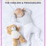 8 Sleep Aids For Children How Bedtime Tools Help My