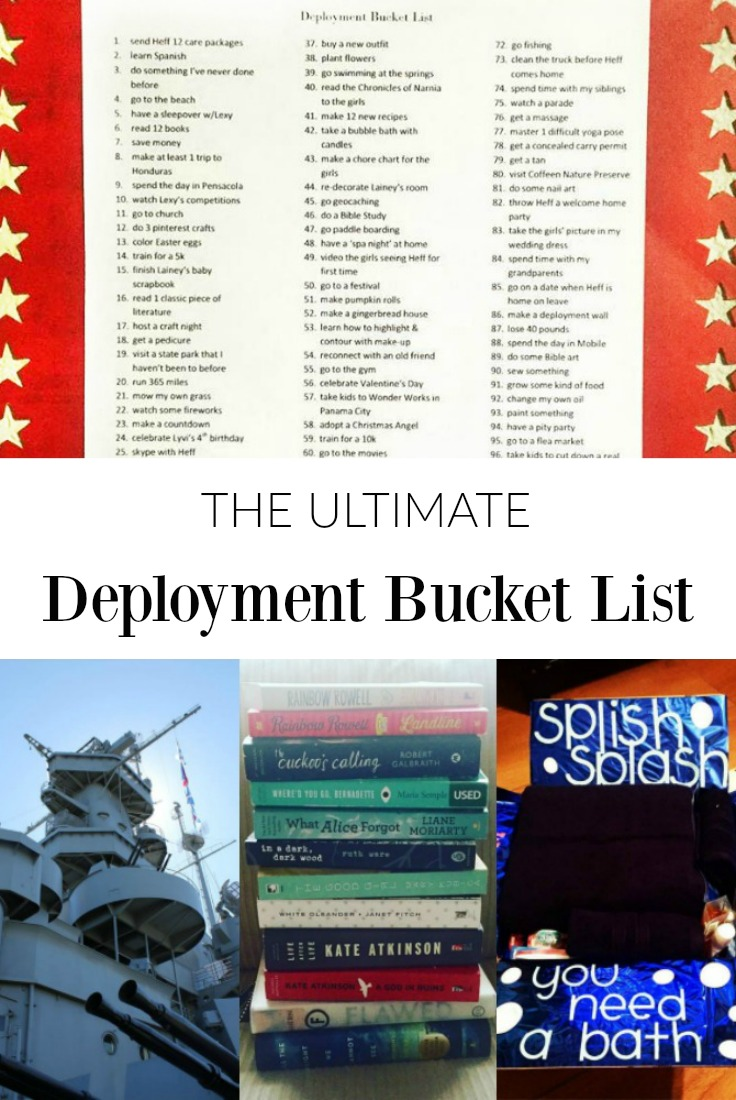 Deployment Bucket List Ideas