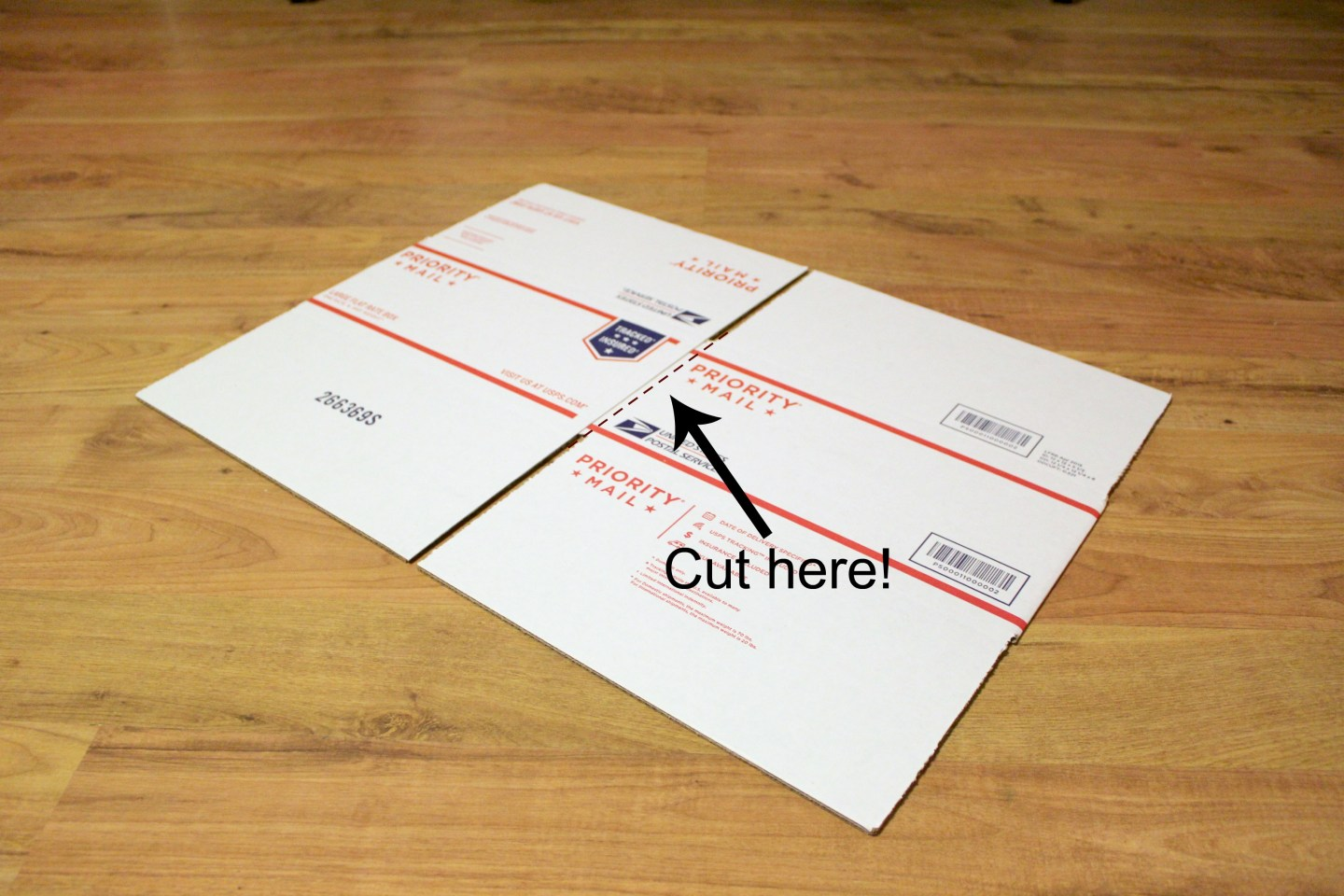 How to wrap inside of box for care package.