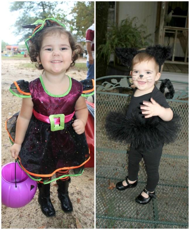Coordinating Sister Halloween Costumes