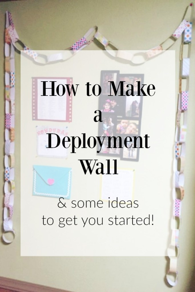 deployment wall ideas