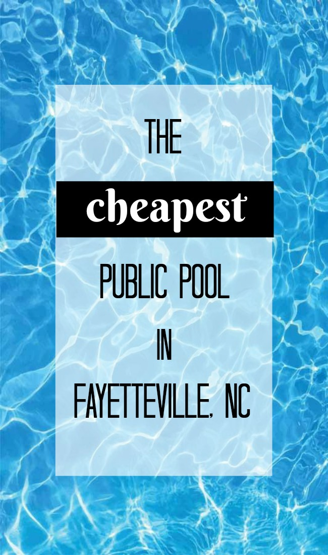 where to swim in Fayetteville, NC