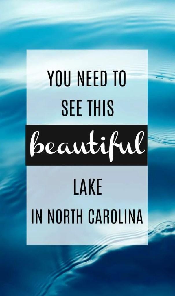 beautiful lake in North Carolina