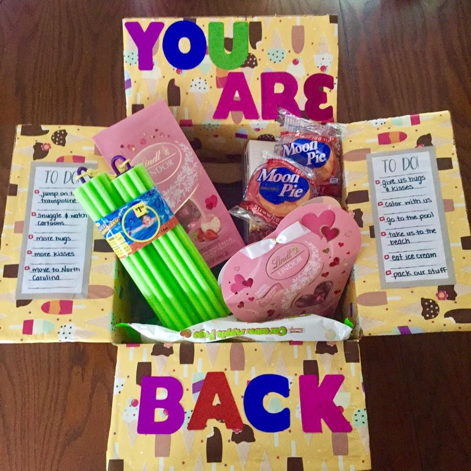You Are Back Care Package