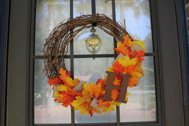 DIY Fall Wreath
