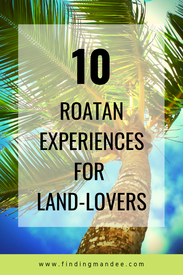 10 Things to do in Roatan, Honduras for land-lovers!