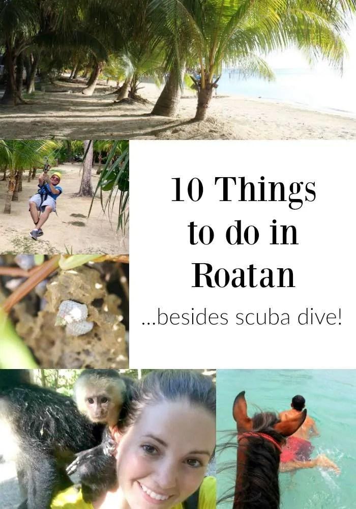 things to do in Roatan Honduras