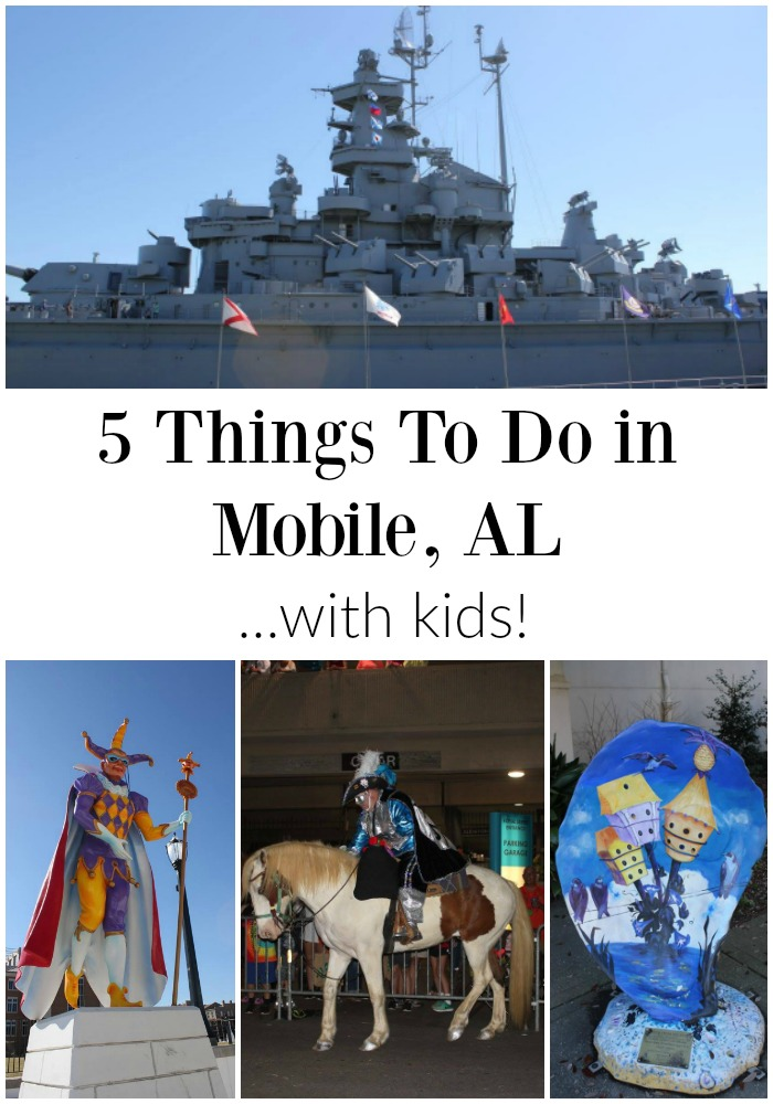 5 things to do in Mobile, Alabama with kids