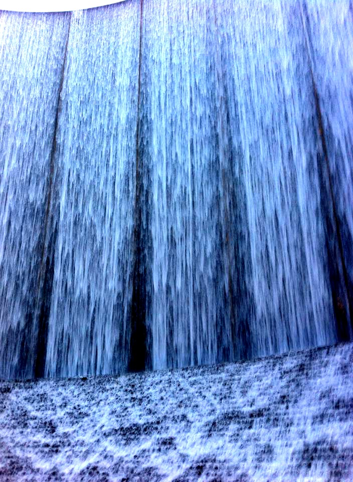the water wall in Houston Texas