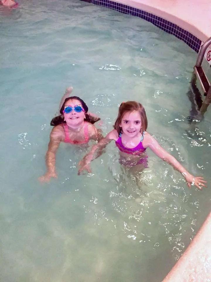 indoor pool at Shenandoah Crossing